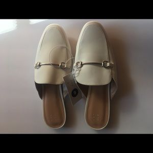 NWT A New Day Target white Mules shoes 9
